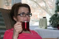 Ummm! Tiny espresso cup