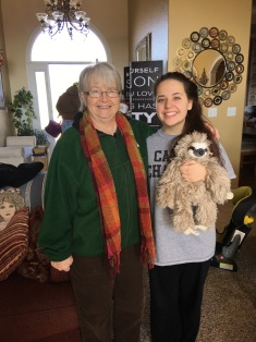 Grandma, Katelyn, Sloth - I want one!!