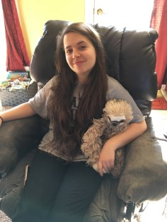 Katelyn and new sloth